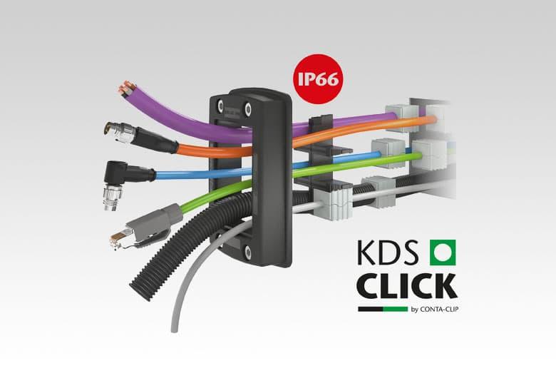 KDS-SR Schroef kabeldoorvoersysteem (KDSClick)