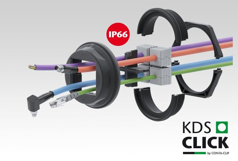 KDS-SR Schroef kabeldoorvoersysteem