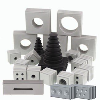 KDSClick dichtelementen - kabeldoorvoer