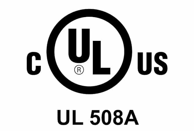 UL508 Certificaat